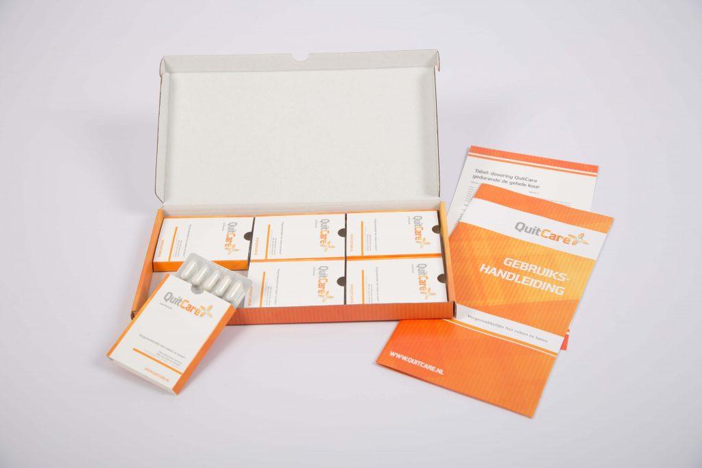 QuitCare pakket met handleiding